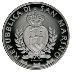 10 euro Saint-Marin 2014 argent BE - Pont Tibère Avers