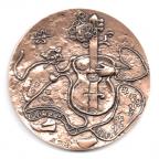 (FMED.Méd.MdP.CuSn56.000000002) Médaille bronze - Georges Brassens Revers