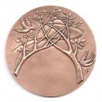 (FMED.Méd.MdP.CuSn97.000000002) Médaille bronze - Mariage, par Thurotte Revers