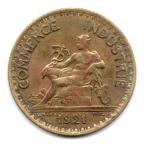 (FMO.1.1921.19.2.000000001) 1 Franc Chambres de commerce 1921 Avers