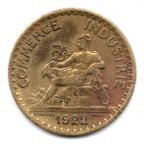 (FMO.1.1922.19.3.000000002) 1 Franc Chambres de commerce 1922 Avers