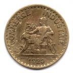 (FMO.1.1923.19.4.000000001) 1 Franc Chambres de commerce 1923 Avers