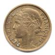 (FMO.1.1932.20.2.000000001) 1 Franc Morlon 1932 Avers