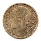 (FMO.1.1932.20.2.000000002) 1 Franc Morlon 1932 Avers