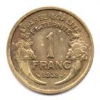 (FMO.1.1932.20.2.000000002) 1 Franc Morlon 1932 Revers
