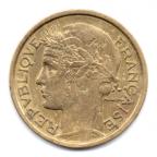 (FMO.1.1932.20.2.000000003) 1 Franc Morlon 1932 Avers