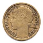 (FMO.1.1938.20.8.000000001) 1 Franc Morlon 1938 Avers