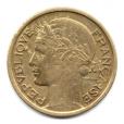 (FMO.1.1938.20.8.000000002) 1 Franc Morlon 1938 Avers