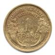 (FMO.1.1938.20.8.000000002) 1 Franc Morlon 1938 Revers