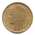 (FMO.1.1940.20.10.000000001) 1 Franc Morlon 1940 Avers