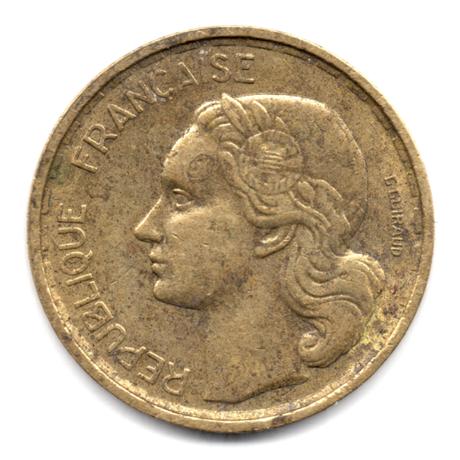 (FMO.10.1951.4.3.000000001) 10 Francs Guiraud 1951 Avers