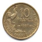 (FMO.10.1951.4.3.000000001) 10 Francs Guiraud 1951 Revers
