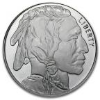 Médaille argent 1 once - Bison d'Amérique Avers