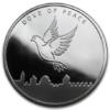 Médaille argent 1 once - Colombe de la Paix 2013 Avers