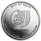 Médaille argent 1 once - Jérusalem, cité de la Paix 2014 Revers
