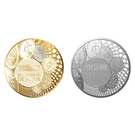 Médaille argent - 1150 de la Monnaie de Paris (visuel complémentaire)