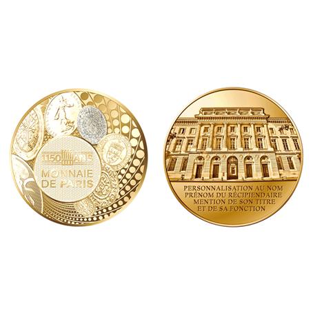 Médaille bronze florentin - 1150 de la Monnaie de Paris (visuel supplémentaire)