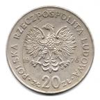 (W175.2000.1976.1.1.000000001) 20 Zloty Marceli Nowotko 1976 Avers