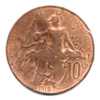 (FMO.010.1912.5.17.000000001) 10 centimes Dupuis 1912 Revers
