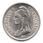 (FMO.1.1992.30.1.000000002) 1 Franc République 1992 Avers