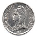 (FMO.1.1992.30.1.000000003) 1 Franc République 1992 Obverse