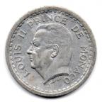 (W150.100.1943.1.1.000000007) 1 Franc Louis II 1943 Avers