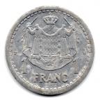 (W150.100.1943.1.1.000000007) 1 Franc Louis II 1943 Revers