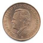 (W150.1000.1982.1.10.000000001) 10 Francs Rainier III 1982 Avers