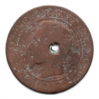 (FMO.010.1853_D.2.5.000000001) Dix centimes Napoléon III, Tête nue 1853 D Avers