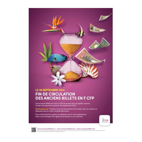 Fin de circulation des anciens billets en Francs CFP