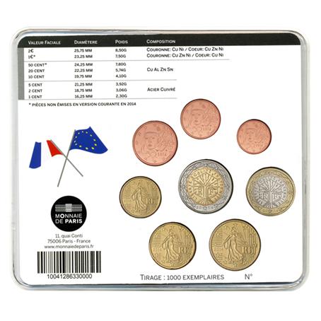Mini-set BU France 2014 - Première Guerre mondiale Verso