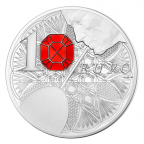 10 euro France 2014 argent BE - Baccarat Revers