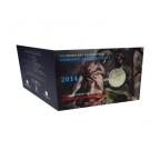 2 euro commémorative Grèce 2014 BU - Domenicos Theotokopoulos (visuel complémentaire)