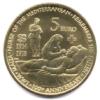 5 euro Malte 2014 - Première Guerre mondiale Revers