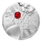 Médaille argent - Baccarat Revers