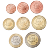 1 cent à 2 euro Lituanie 2015 Avers