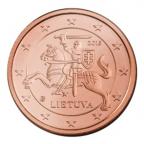 1 cent Lituanie 2015 Avers
