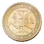 10 cent Lituanie 2015 Avers