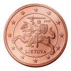 2 cent Lituanie 2015 Avers