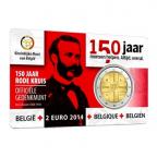 2 euro commémorative Belgique 2014 BU - Croix Rouge