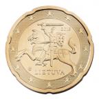 20 cent Lituanie 2015 Avers