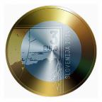 3 euro Slovénie 2014 - Janez Puhar Avers