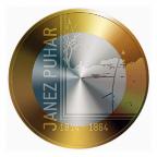 3 euro Slovénie 2014 - Janez Puhar Revers