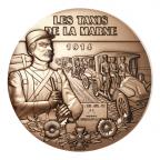 Médaille bronze - Première Guerre mondiale Avers