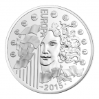 10 euro France 2015 argent BE - Europa Avers