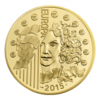 500 euro France 2015 or BE - Europa Avers