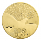 500 euro France 2015 or BE - Europa Revers