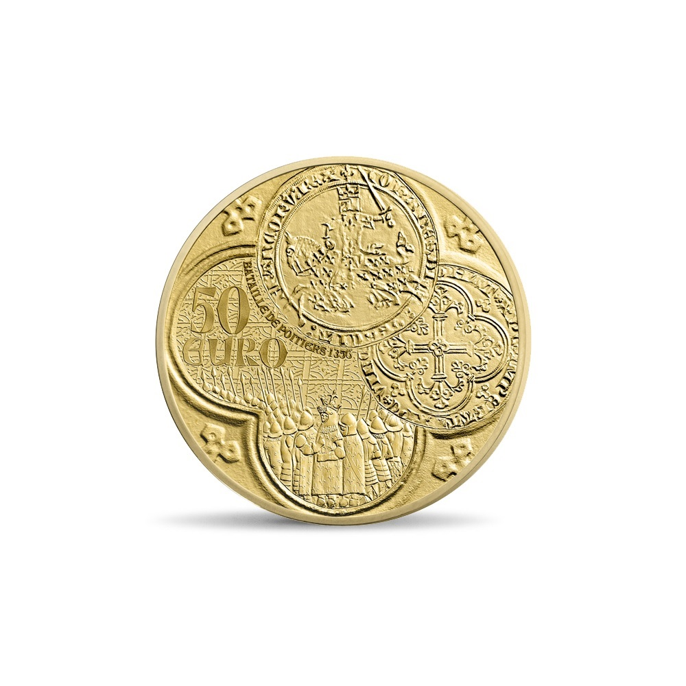(EUR07.ComBU&BE.2015.10041292880000) 50 euro France 2015 Proof gold - Sower Reverse (zoom)