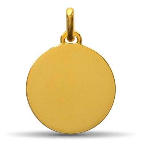 (FMED.Méd.couMdP.10011264980P00) Médaille de cou or - Le Petit Prince couché dans herbe Revers