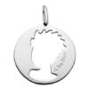 (FMED.Méd.couMdP.Ag6) Médaille de cou argent - Le portrait ajouré du Petit Prince Avers